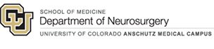 School of Medicine- Department of Neurosurgery- University of Colorado Anschutz Medical Campus  logo